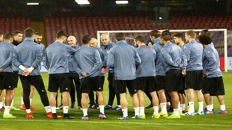 زيدان يعلن عن قائمة ريال مدريد لمواجهة البايرن
