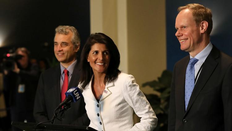واشنطن ولندن وباريس تعرض على مجلس الأمن مشروع قرار معدلا حول استخدام الكيميائي في سوريا