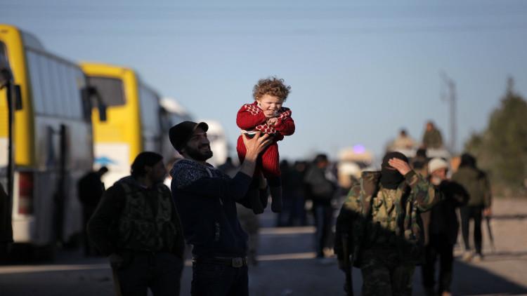 سوريا .. بدء تنفيذ المرحلة الأولى من إجلاء سكان بلدتي كفريا والفوعة