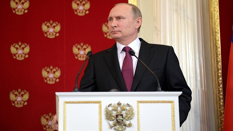 بوتين: نحن لا نحرق المراحل ولا نسابق أنفسنا