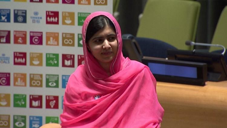 تعيين مالالا سفيرة للسلام للأمم المتحدة (فيديو)