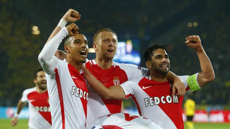 موناكو يعود بانتصار ثمين من دورتموند في أبطال أوروبا