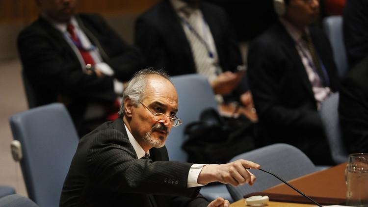 الجعفري: ليتران من غاز السارين نُقلا من ليبيا