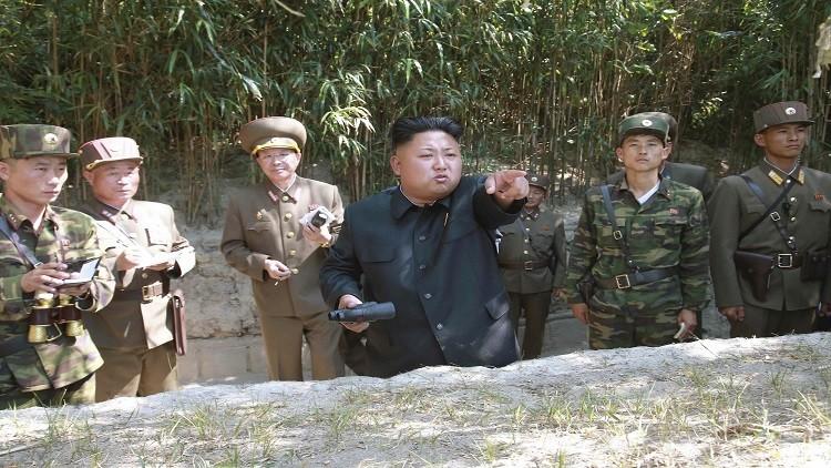 الزعيم الكوري الشمالي يشارك في مناورة للقوات الخاصة
