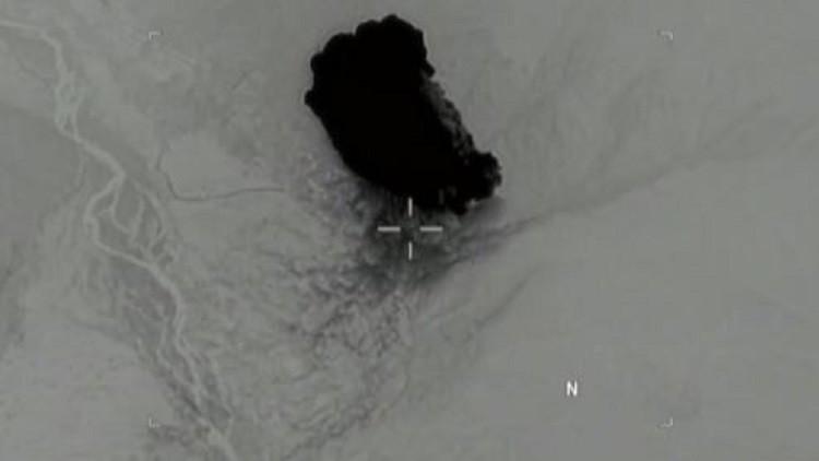 الأقمار الاصطناعية ترصد لحظة ومساحة التدمير الذي أحدثته أم القنابل في أفغانستان