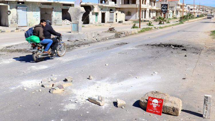 موسكو تشكك بادعاءات أنقرة حول استخدام السارين في إدلب