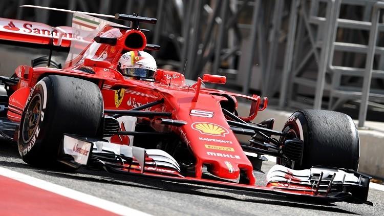 فيتل يسيطر على التجارب الحرة في مرحلة البحرين للفورمولا 1