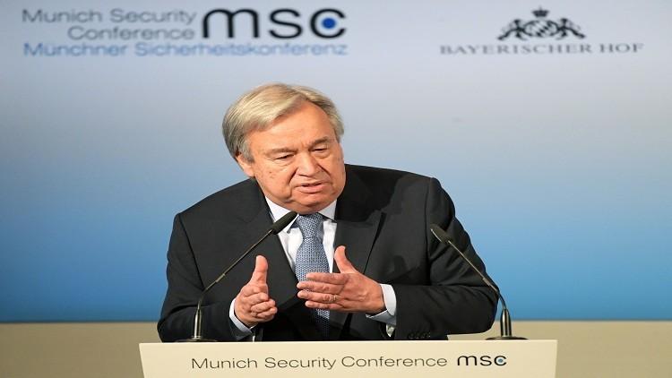 غوتيريش يحذر من تجدد الصراع في ليبيا