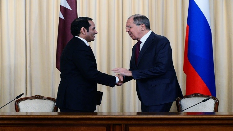 لافروف: نخطط لزيادة الاستثمار مع قطر