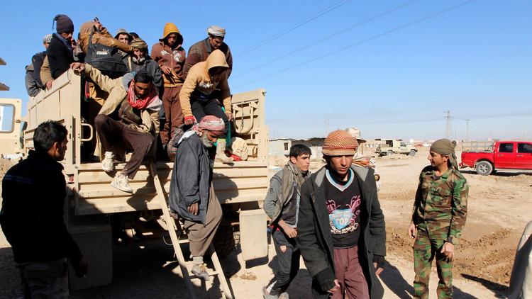 نازحون عراقيون يواجهون الموت