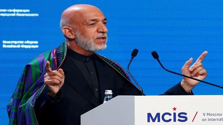 كرزاي: السماح للأمريكيين بقصف أفغانستان