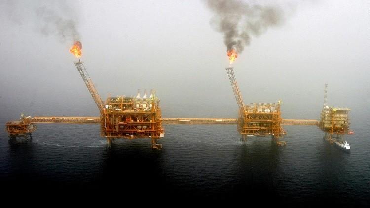 إيران تطور حقل غاز