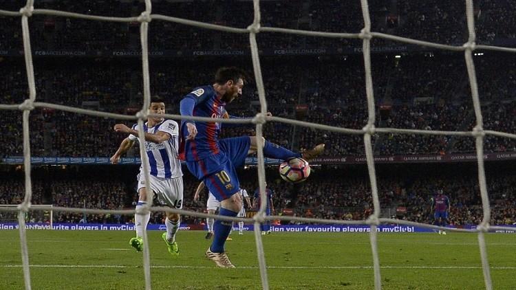 بالفيديو.. ميسي يقترب من الـ500 هدف مع البلوغرانا