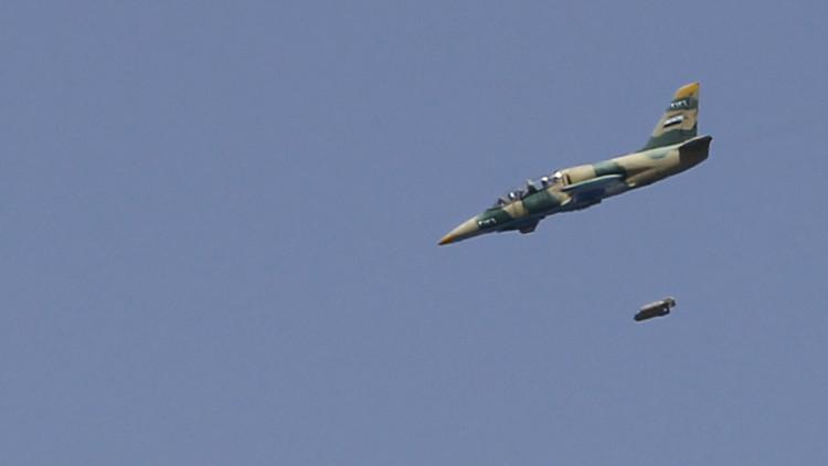 الطيران السوري يدمر أكبر موقع لداعش في البلاد