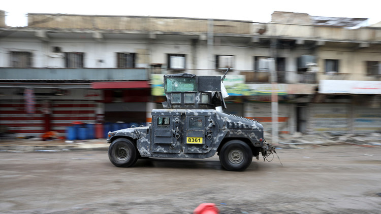 القوات العراقية تحرز تقدما في الموصل القديمة