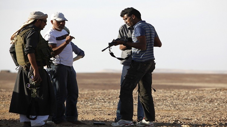 اشتباك بين داعش وأكبر قبائل سيناء