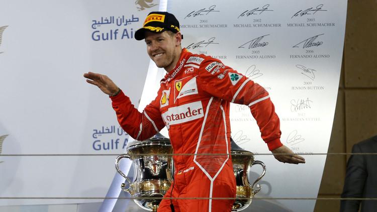فيتل يتوج بجائزة البحرين للفورمولا 1