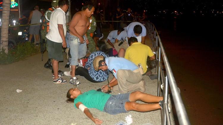 قتيلان وجرحى سياح برصاص مجهولين  في المكسيك