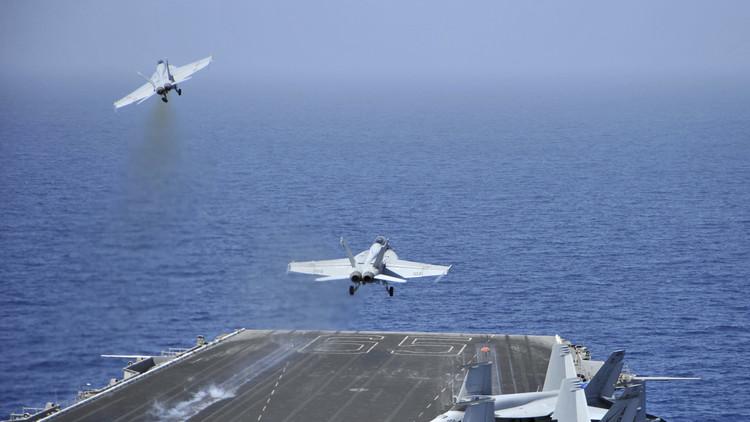 سفن روسيا والصين  تلاحق