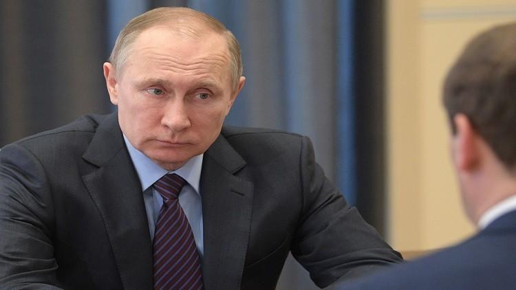 بوتين يقدم مقترحا لتعزيز الروبل