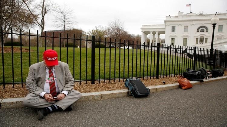 اعتقال امرأة حاولت التسلل إلى البيت الأبيض