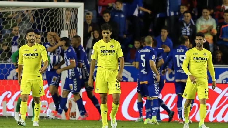 ديبورتيفو ألافيس يسقط الغواصات الصفراء