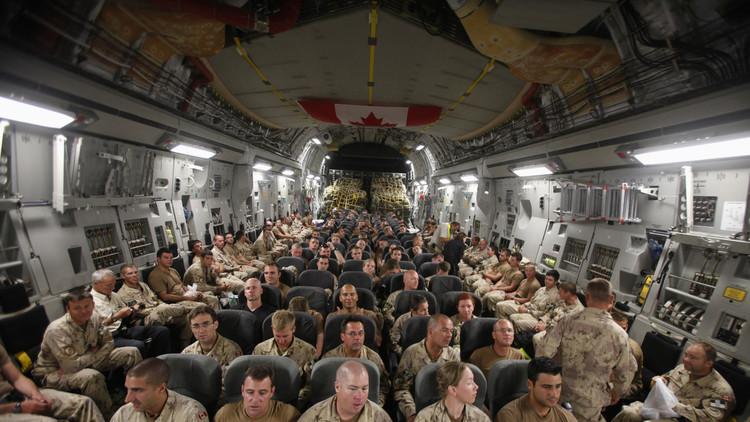 كندا ترسل عشرات العسكريين إلى العراق