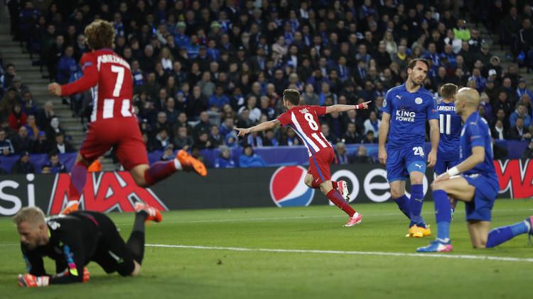أتلتيكو مدريد يروض ثعالب ليستر سيتي