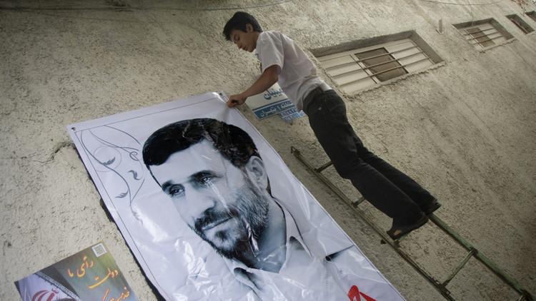 محمود أحمدي نجاد يريد الرئاسة من جديد