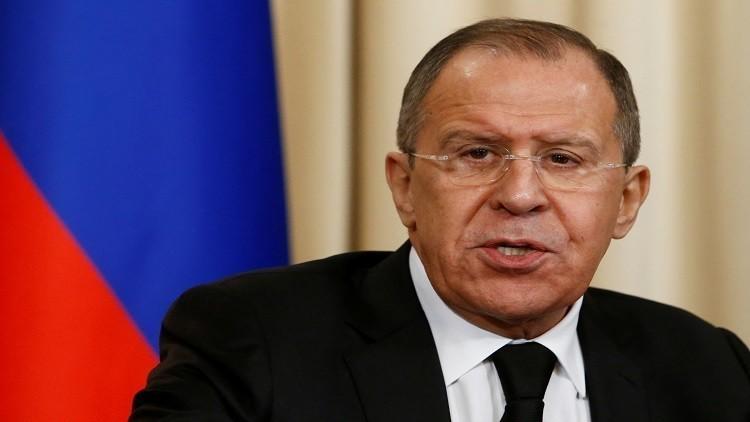 لافروف: الحل الوحيد للأزمة السورية منصوص عليه في قرار مجلس الأمن