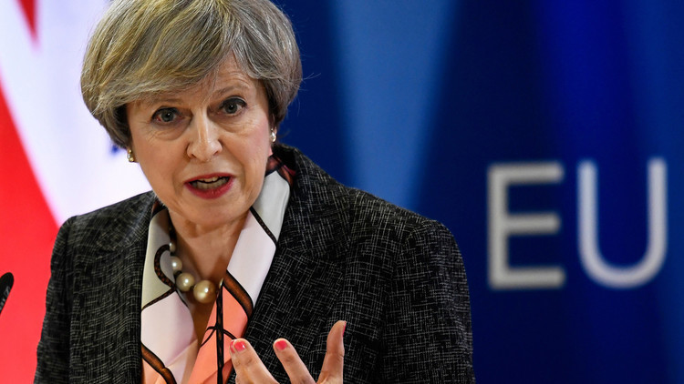 ماي: البريطانيون قالوا كلمتهم ولن ننظر خلفنا