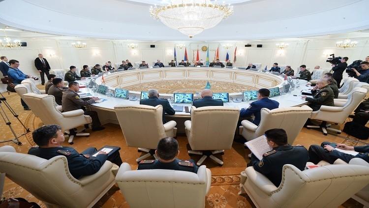منظمة معاهدة الأمن الجماعي تقيم  دفاعا جويا وصاروخيا بوسط آسيا