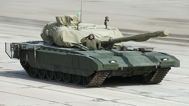 دبابة روسية بقذائف نووية!
