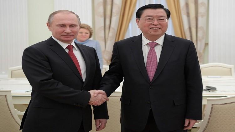 بوتين يلتقي رئيس البرلمان الصيني