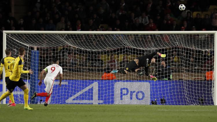 موناكو يبلغ المربع الذهبي لدوري الأبطال