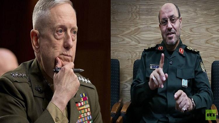 رسالة حادة اللهجة من وزير الدفاع الإيراني لنظيره الأمريكي