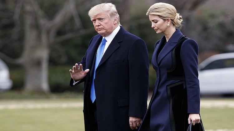 دونالد ترامب وابنته يعتزمان الاتصال بالمحطة الفضائية الدولية