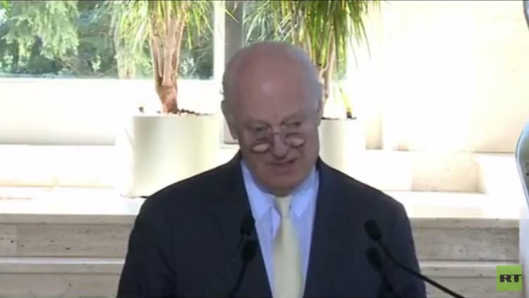 دي ميستورا يعلن تأجيل الاجتماع الثلاثي حول سوريا