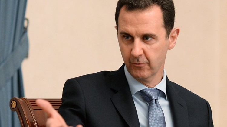 الأسد: اقترحنا على الأمم المتحدة إرسال وفد للتحقيق في حادث خان شيخون لكن الغرب عرقل ذلك