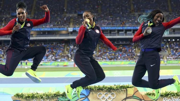 إيقاف بطلة أولمبية لمدة عام