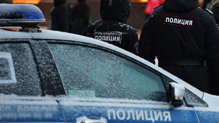اللقطات الأولى من موقع الهجوم على مصلحة الأمن الفدرالي الروسية في خاباروفسك