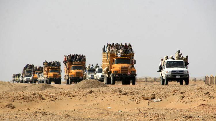 اتهام القاعدة الفرنسية في النيجر بالتواطؤ مع مهربي البشر