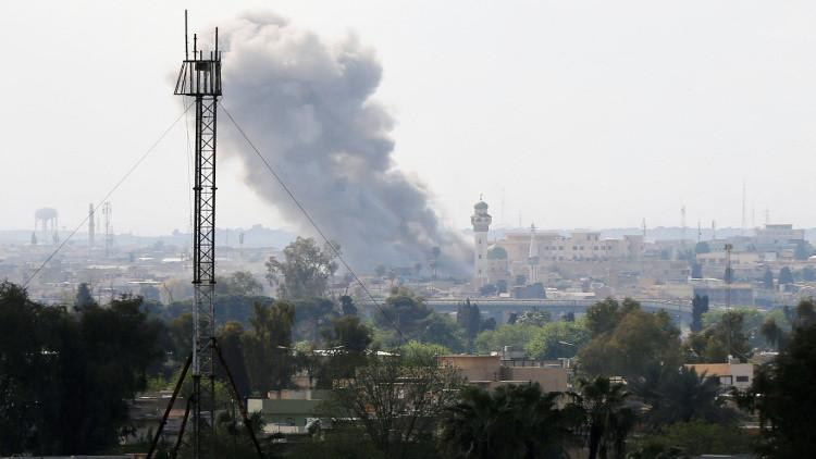 احتدام المعارك في الجانب الغربي للموصل
