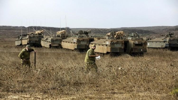 سقوط قذيفتين على الجولان في الجانب الإسرائيلي