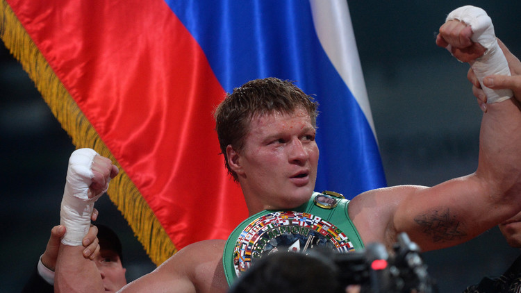 الملاكم الروسي بوفيتكين يطعن على  قرار إيقافه