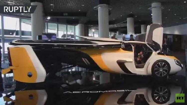 سيارة طائرة بمليون دولار