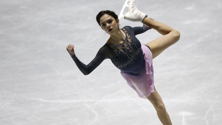 روسيا وصيفة بطولة العالم في التزحلق على الجليد
