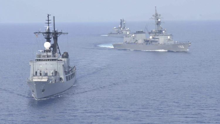 مناورات أمريكية يابانية غرب المحيط الهادئ لمواجهة التهديد الكوري الشمالي
