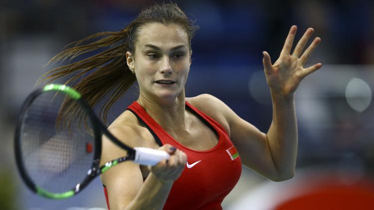 بيلاروس تتقدم على سويسرا في كأس الاتحاد لتنس السيدات