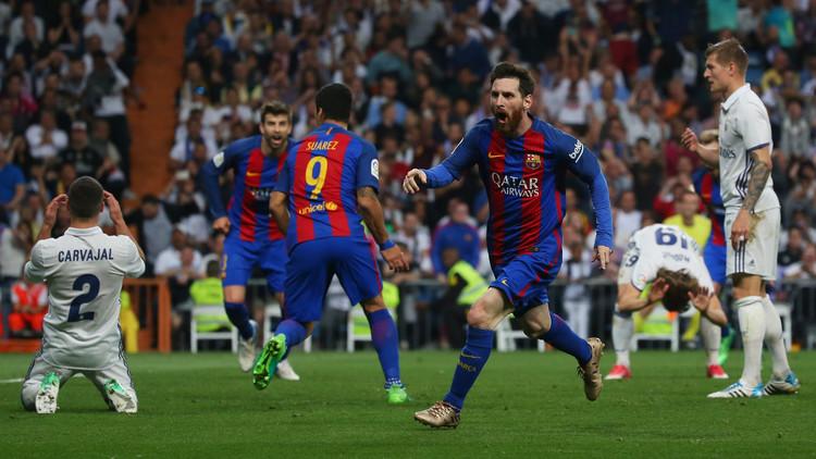 الساحر ميسي يحسم الكلاسيكو لبرشلونة بهدف قاتل في مرمى ريال مدريد